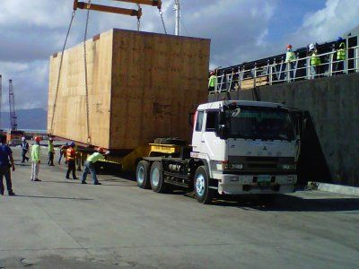 1 / 14 Project ex Antwerp to Manila (via Singapore) - 1 Machine with 47'909 kgs