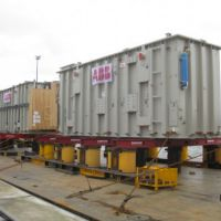 Project ex Antwerp to Fujairah - 3 Transformers - each 1275x387x522 cm each with 339'000 kgs