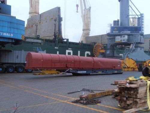 1 / 6 Project ex Antwerp to Shanghai - 1 Rotor - 1903x210x206cm - 102'000 kgs